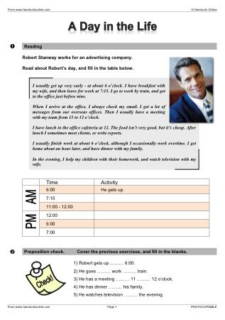 elementary to pre intermediate business english esl efl esol worksheets from handouts online