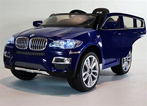 New 2015 Licensed Bmw X6 12v Kids Boy Girl Ride On Power