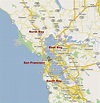 North bay area map - Northern california bay area map ...
