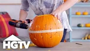 Power, Drill, Pumpkin, Carving