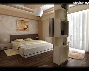 Deco Chambre A Coucher : deco chambre a coucher moderne 686 photo deco maison id es decoration interieure sur pdecor ~ Teatrodelosmanantiales.com Idées de Décoration