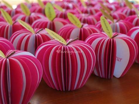 menu marque place pomme d amour fuchsia et blanc de ethanel faire part foto 12