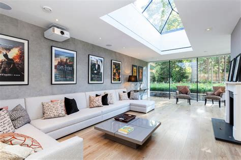 bright ls for living room 20 skylights for a bright living room home design lover