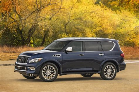 Infiniti Qx80 Photo infiniti reveals refreshed 2015 qx80 suv in new york