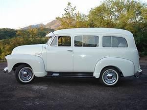 1951 Chevrolet Suburban Carryall Panel Truck