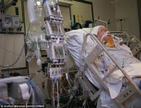 ICU Patient On Life Support