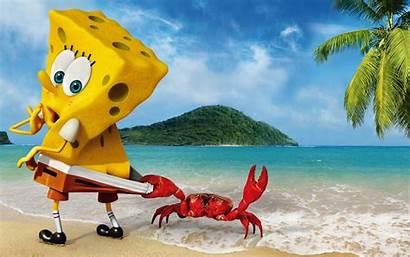 Spongebob 3d Background Wallpapers Squarepants Patrick