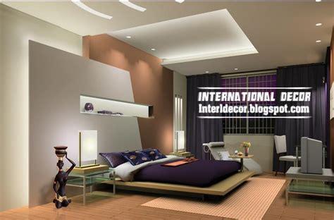 Modern Bedroom Gypsum by Modern Pop False Ceiling Designs For Bedroom 2017
