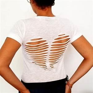 Transformer Ses Vetements : 8 moyens de rendre votre vieux t shirt plus cool cr atif mode faire soi m me vieux ~ Melissatoandfro.com Idées de Décoration