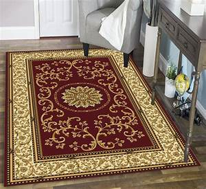 Radici, Usa, Area, Rugs, Noble, Rug, 1419, Burgundy, -, Traditional, Rugs, -, Area, Rugs, By, Style