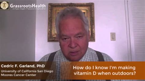 How Do I Know I'm Making Vitamin D When Outdoors? With Dr