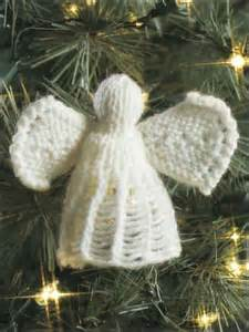Free Knitted Angel Ornament Pattern
