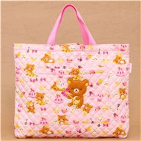pink rilakkuma handbag san x japan shoulder bags
