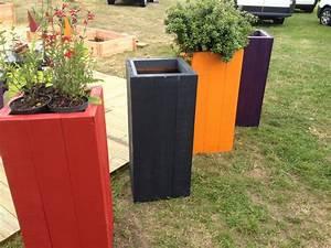 Jardinière En Hauteur : mobilier ext rieur viva le bois ~ Nature-et-papiers.com Idées de Décoration