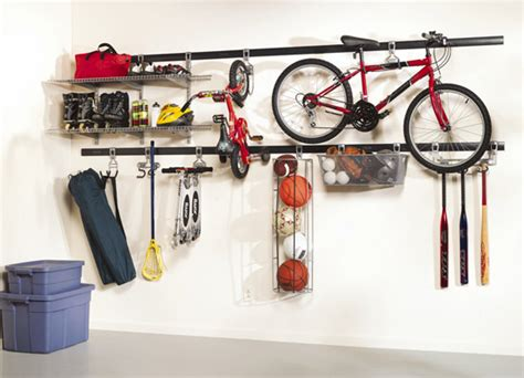 Rubbermaid Fasttrack System A Perfect Garage Storage Solution