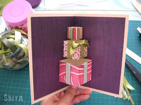 diy  gift box pop  card icreativeideascom
