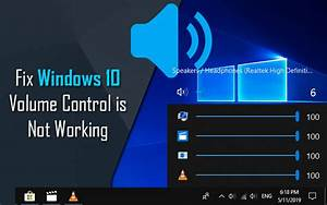Windows 10 Volume Control Not Working  Step