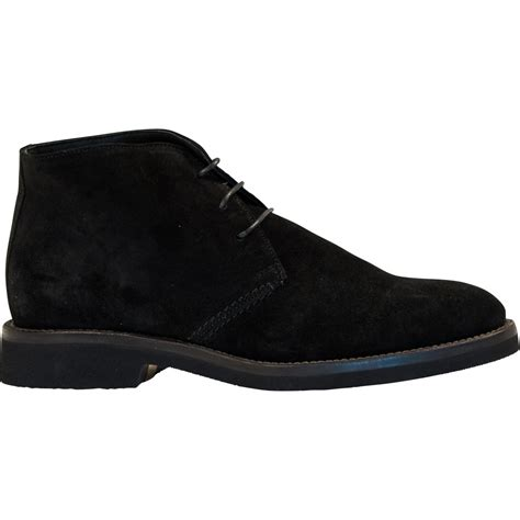 michael black suede desert chukka boots paolo shoes