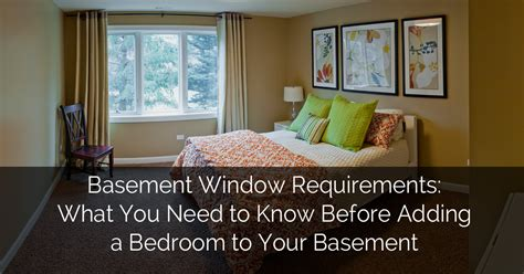 basement window requirements