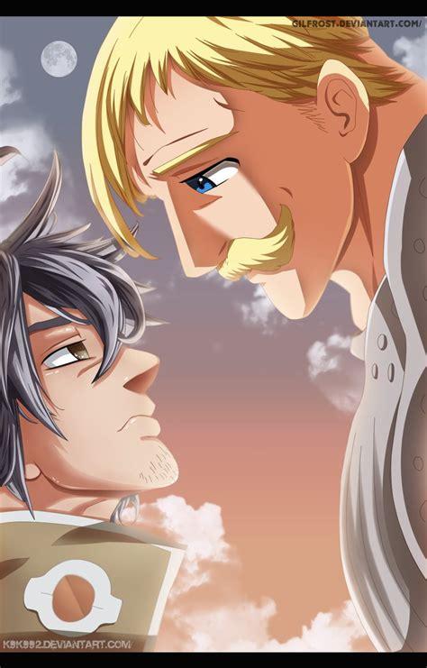 The Seven Deadly Sins Anime Wallpaper Escanor Vs Estarossa Nanatsu No Taizai 183 By K9k992 On Deviantart