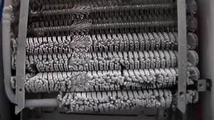 Freezer Coils Freezing Solid - Time Elapsed
