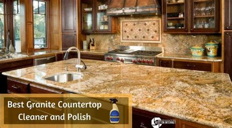 best granite countertop cleaner and