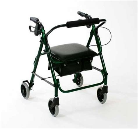 lightweight walker with low seat and bag free delivery