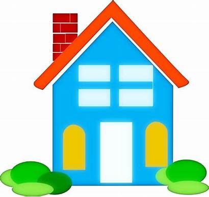 Clip Clipart Homes Clker Royalty Household Cliparts
