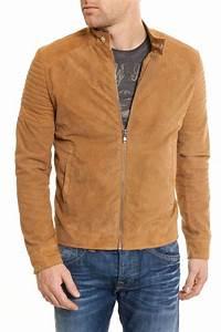 Veste En Daim Homme : veste daim marron homme recherche google mode homme ~ Nature-et-papiers.com Idées de Décoration