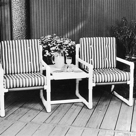 Pvc Patio Furniture by Pvc Outdoor Patio Furniture Plans Woodworking Projects