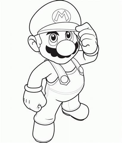 Mario Colorear Dibujos Imprimir