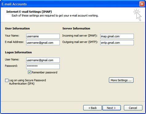 Office 365 Outlook Gmail Settings by Configureaza Outlook Pentru Gmail Prin Imap Tutoriale It