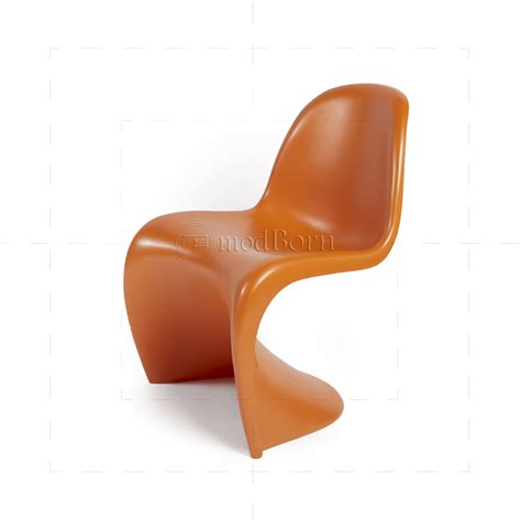 chaise verner panton verner panton chair orange replica