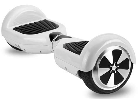 white wheel electric scooter balancing hover board segway