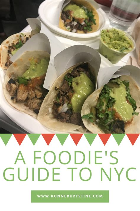 Foodie Guide To New York by A Foodie S Guide To Nyc The Best Places To Eat In