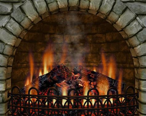 Realistic Fireplace Screensaver - 3d realistic fireplace 3 screen saver serial 1opisane