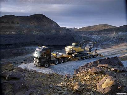 Excavator Volvo Wallpapers Backgrounds Background Paterson Province