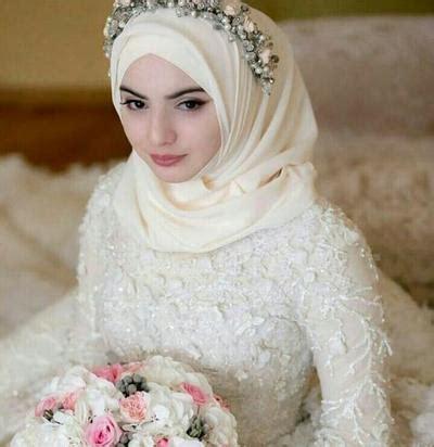 inspirasi baju pengantin adat jawa hijab modern