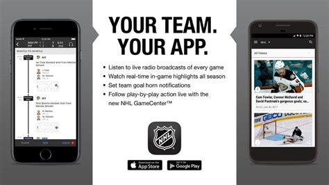 Nhl Mobile by Nhl Mobile App Mobile Application Mania