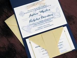 nautical map martha39s vineyard wedding invitation set With nautical map wedding invitations