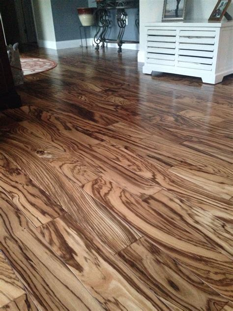 Tiger wood hardwood floors   House Ideas   Pinterest