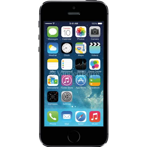 support smartphone bureau apple iphone 5s space grey 16gb chez vanden borre