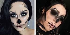 Maquillage Squelette Facile : maquillage tete mexicaine maquillage t te de mort ~ Dode.kayakingforconservation.com Idées de Décoration