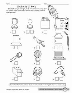 electricity at work lesson plans the mailbox 1 With worksheets high school electricity circuits worksheets circuit