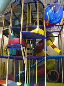 Large themed indoor playground structures we designed