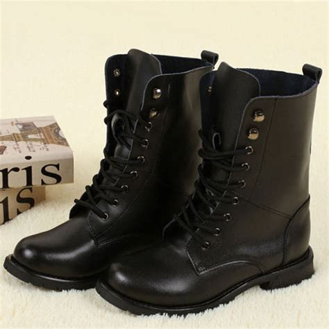 ladies black motorcycle boots black boots leather rivet biker boots womens motorcycle