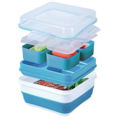 cool gear ez freeze collapsible bento box assorted colors walmartcom