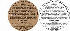 printable warning labels for candles made by creative label With custom candle warning labels