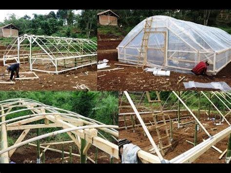 mudah  murah membuat green house ikan  tanaman