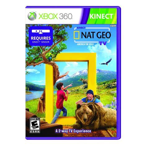 kinect nat geo tv and kinect sesame tv microsoft 913 | NatGeo1